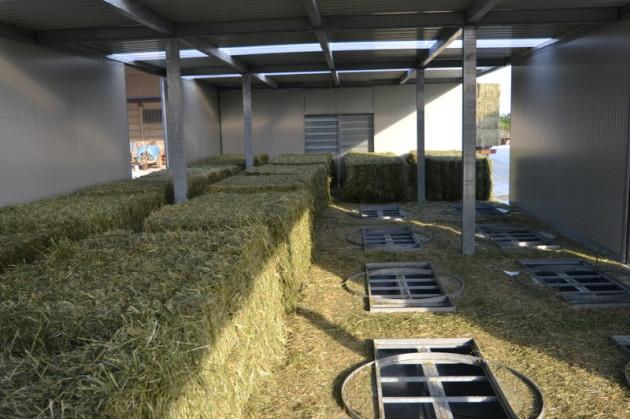AgriCompact Technologies GmbH, Heutrocknungsanlage, Heutrocknung, Rundballen, Quaderballen, Heurundballen, Heuquaderballen