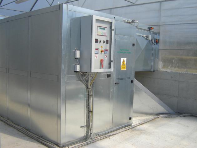 Heutrocknungsanlage, Heutrocknung, Rundballen, Quaderballen, GEOTHERMISCHE ENERGIE