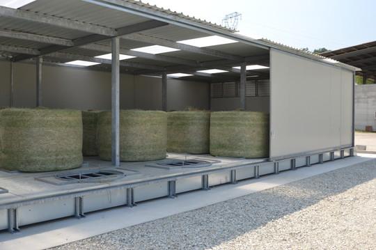 Séchoir Foin COMPACT pour balles, AgriCompact Technologies GmbH