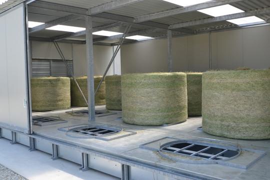 Séchoir Foin COMPACTpour balles, AgriCompact Technologies GmbH