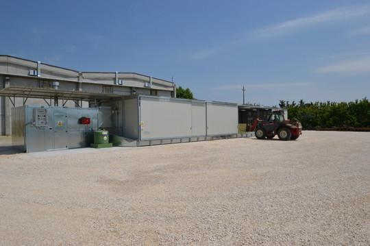Séchoir Foin COMPCT pour balles, AgriCompact Technologies GmbH
